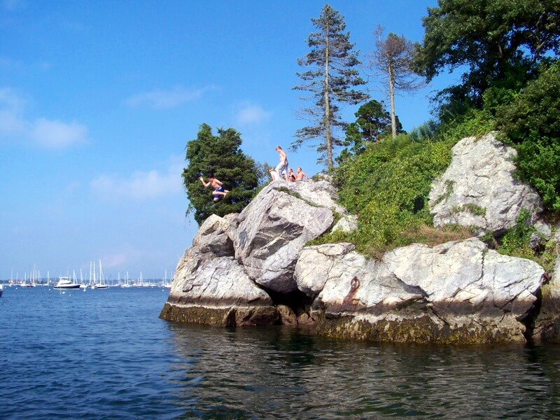 Newport Rock Jumping